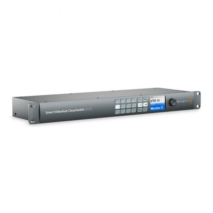 Comprar Blackmagic Smart Videohub CleanSwitch 12x12 en España